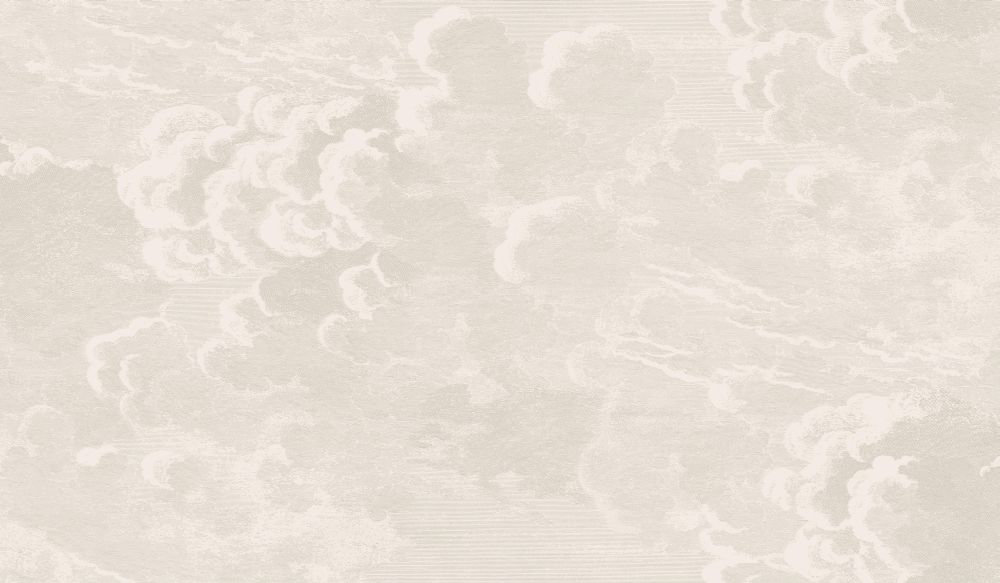 Cole & Son Nuvolette Gold and Silver Wallpaper main image