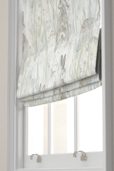 Dune Hares Curtains By Sanderson Mist And Pebble