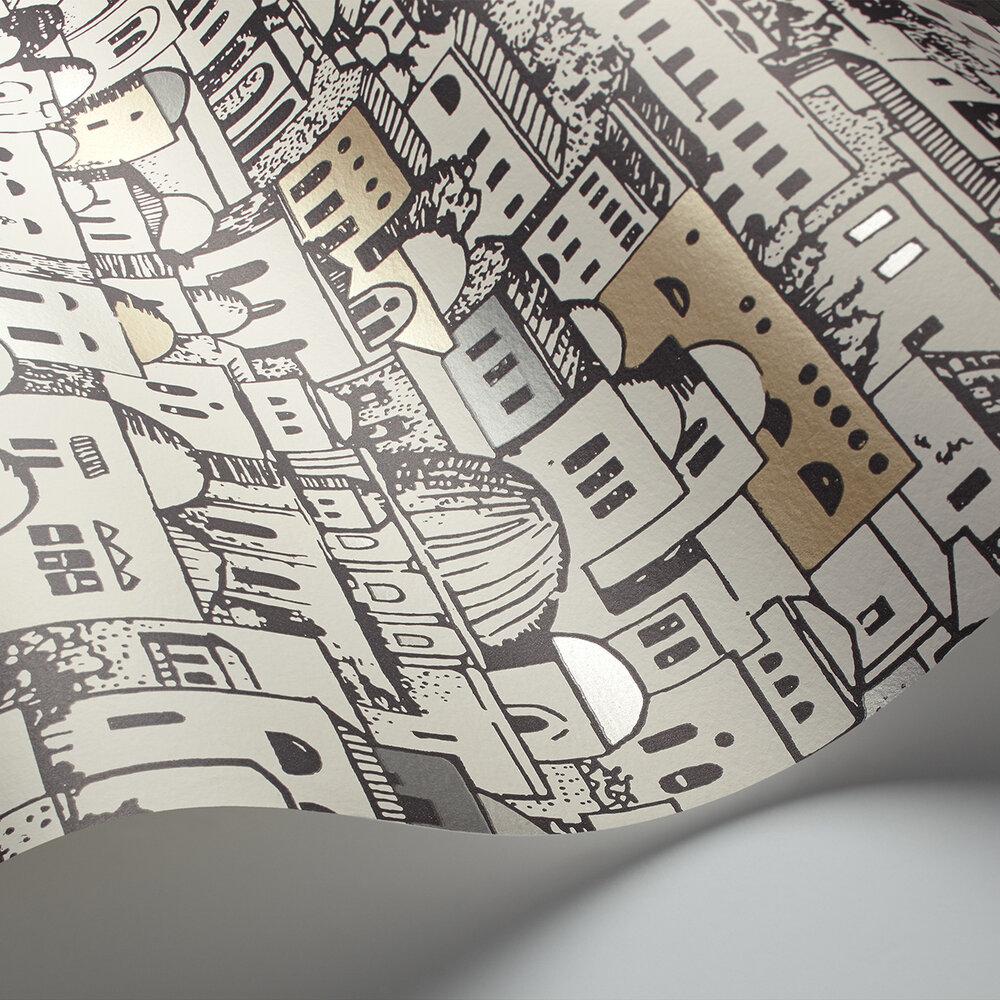 Mediterranea Wallpaper - White - by Cole & Son