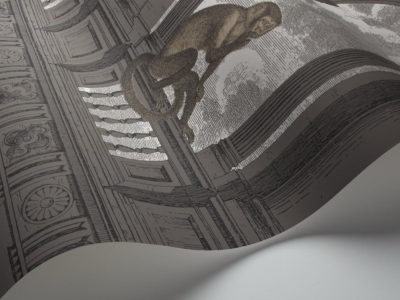 Cole & Son Procuratie con Vista Grey Wallpaper - Product code: 114/8016