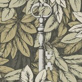 Cole & Son Chiavi Segrete Earthy-green Wallpaper