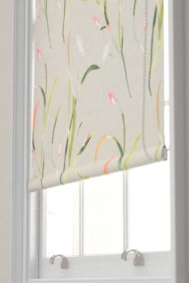 Harlequin Saona Coral and Silver Blind - Product code: 120742