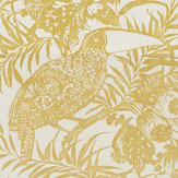 Harlequin Toco Ochre Fabric - Product code: 120743