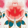 Harlequin Zapara Pomegranate and Lagoon Fabric - Product code: 132645