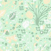 Caselio 1001 Pattes Mint Wallpaper