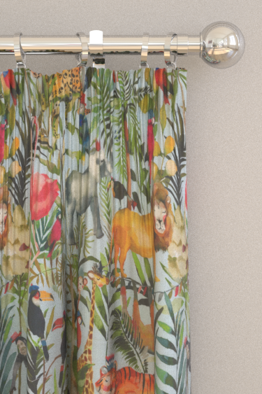 Prestigious King of the Jungle Waterfall Curtains - Product code: 8630/010