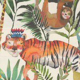 Prestigious King of the Jungle Safari Fabric