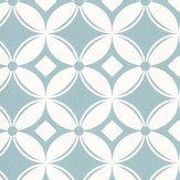 Caselio Tiens Toi A Carreaux Pale Blue Wallpaper
