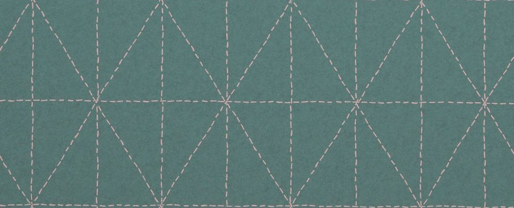 Galerie Diamond Stitch Teal Wallpaper - Product code: 219031
