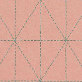 Galerie Diamond Stitch Pink Wallpaper
