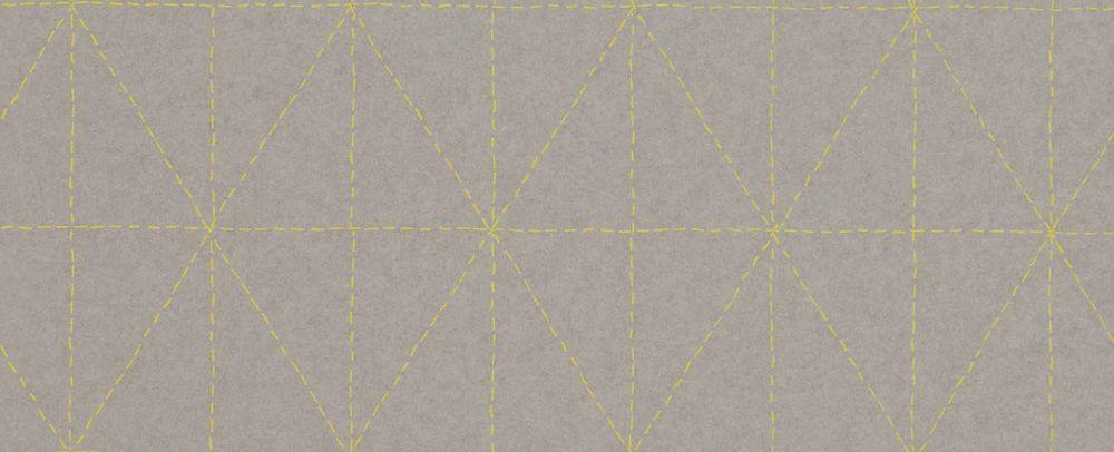 Galerie Diamond Stitch Grey Wallpaper - Product code: 219033