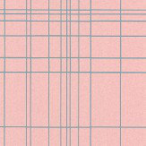 Galerie Plaid Pink Wallpaper - Product code: 219070