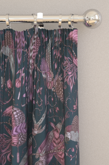 Emma J Shipley Audubon Pink Curtains - Product code: F1108/04