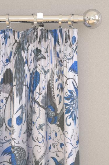 Emma J Shipley Audubon Blue Curtains - Product code: F1108/01