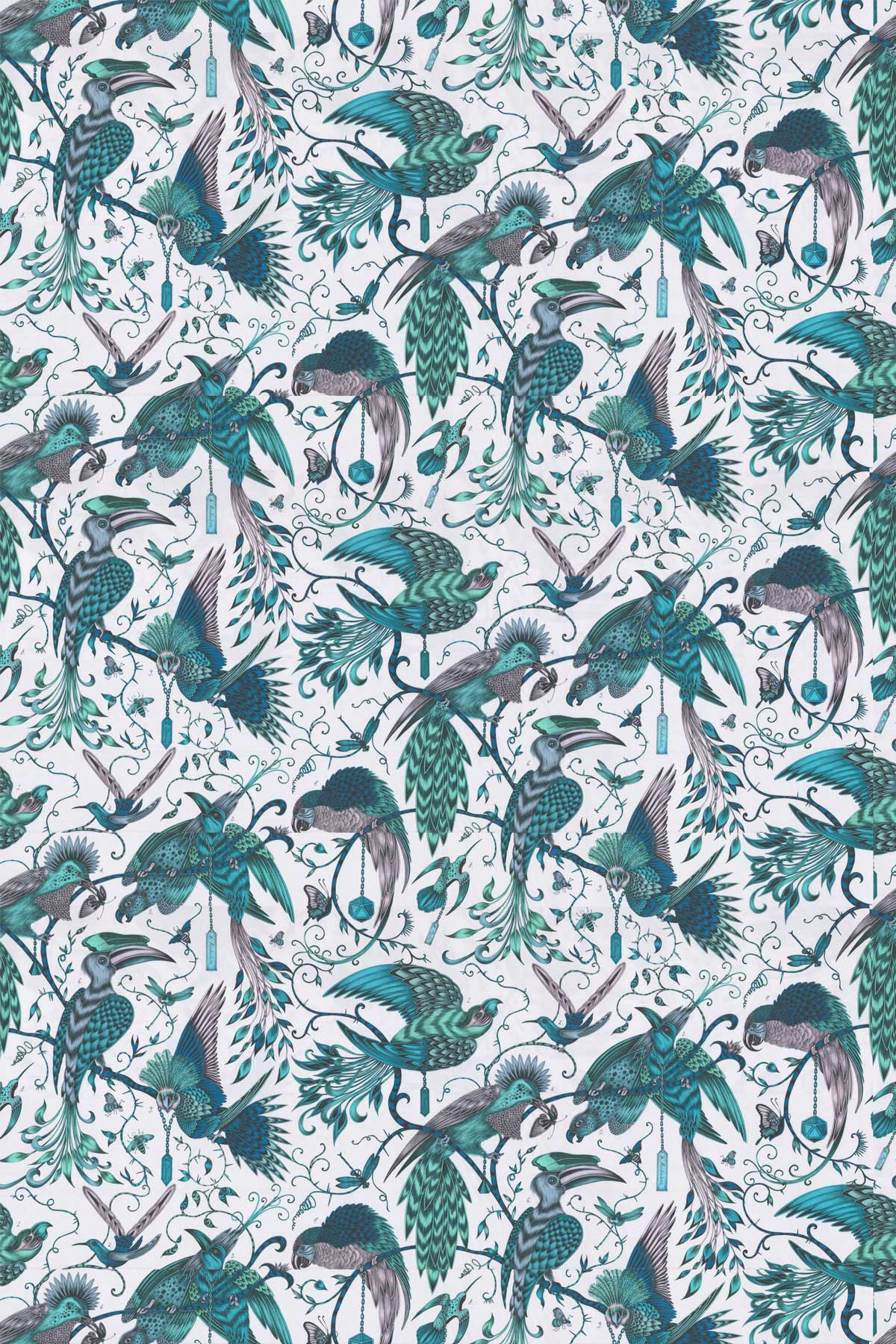 Emma J Shipley Audubon Jungle Fabric - Product code: F1108/03
