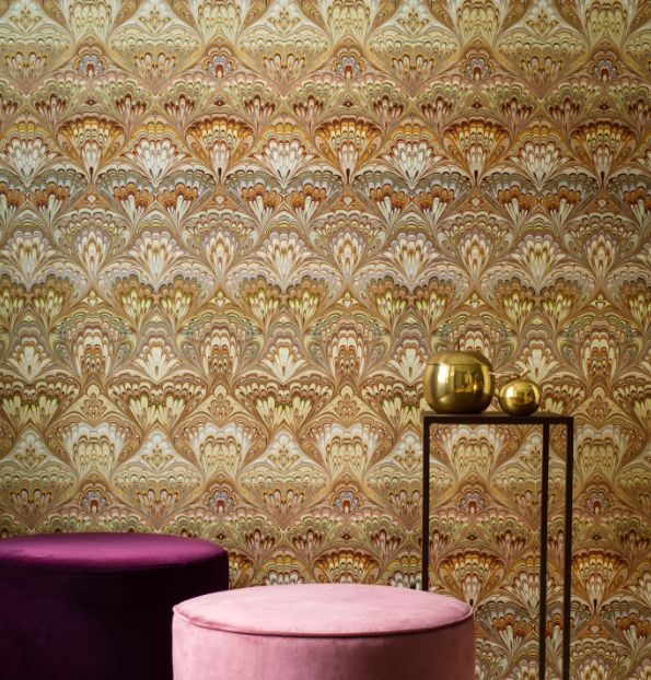 Shangri-La Wallpaper - Multi-coloured - by Engblad & Co