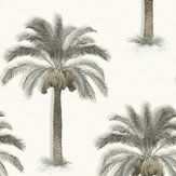 SK Filson Palm Trees Beige Wallpaper