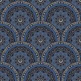 SK Filson Divine Plates Blue Wallpaper - Product code: SK10026