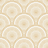 SK Filson Divine Plates Gold Wallpaper - Product code: SK10027