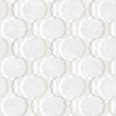 SK Filson Diamond Trellis Ivory Wallpaper