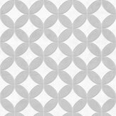 SK Filson Geometric Circles Grey Wallpaper