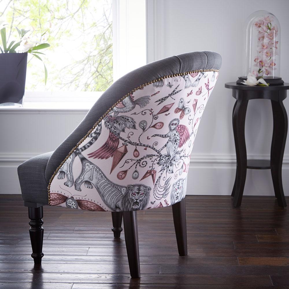 Soho Chair - Extinct Armchair - Pink - by Emma J Shipley