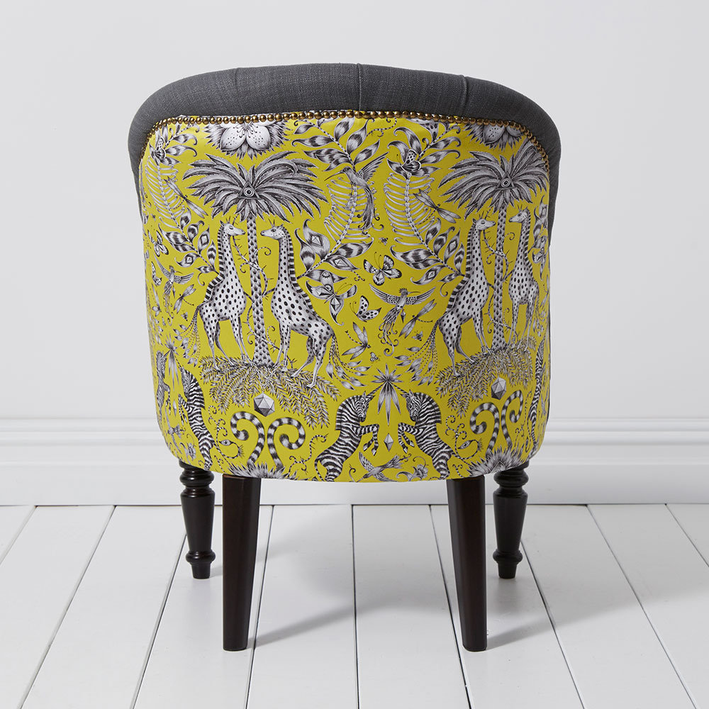 Soho Chair - Kruger Armchair - Lime - by Emma J Shipley