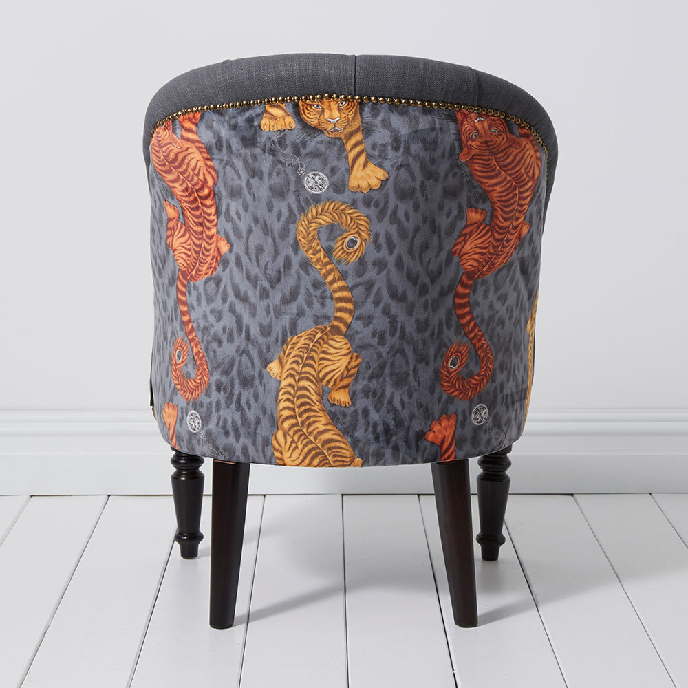 Soho Chair - Tigris Armchair - Flame - by Emma J Shipley