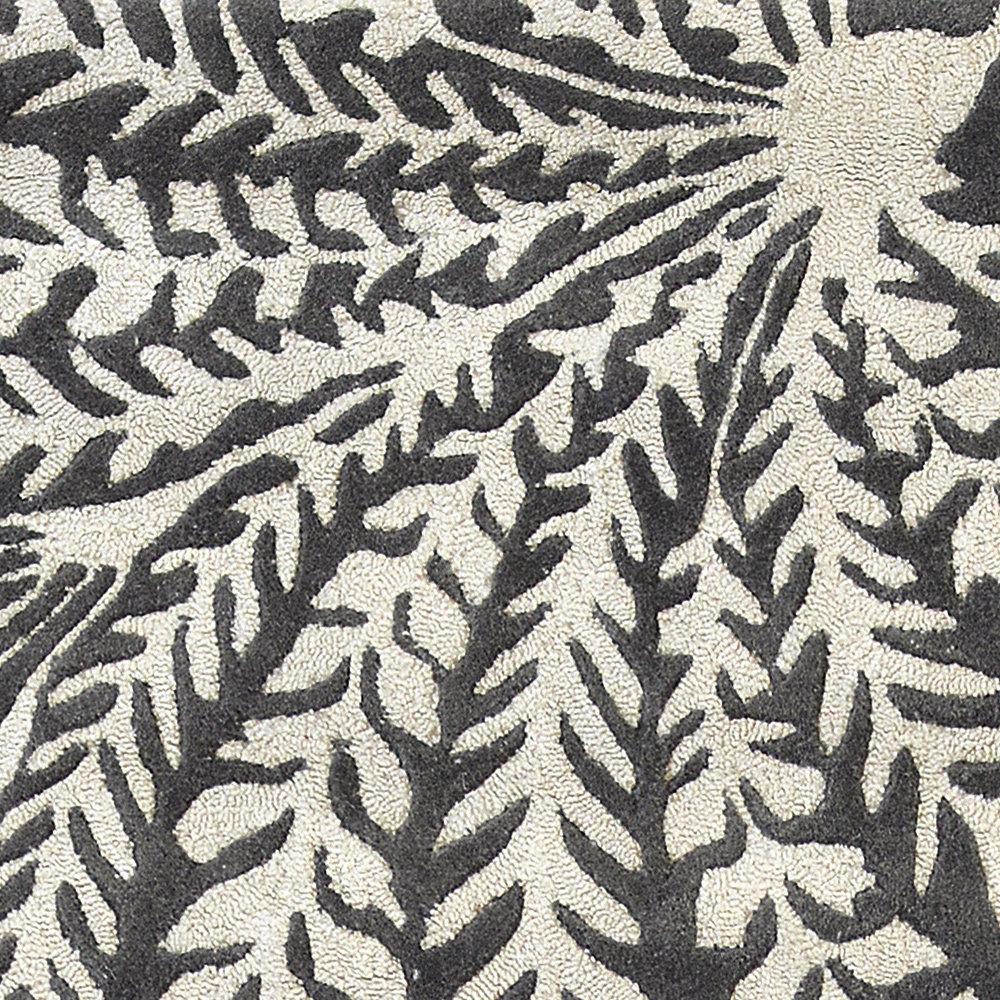 Mapperton Rug - Graphite - by Sanderson