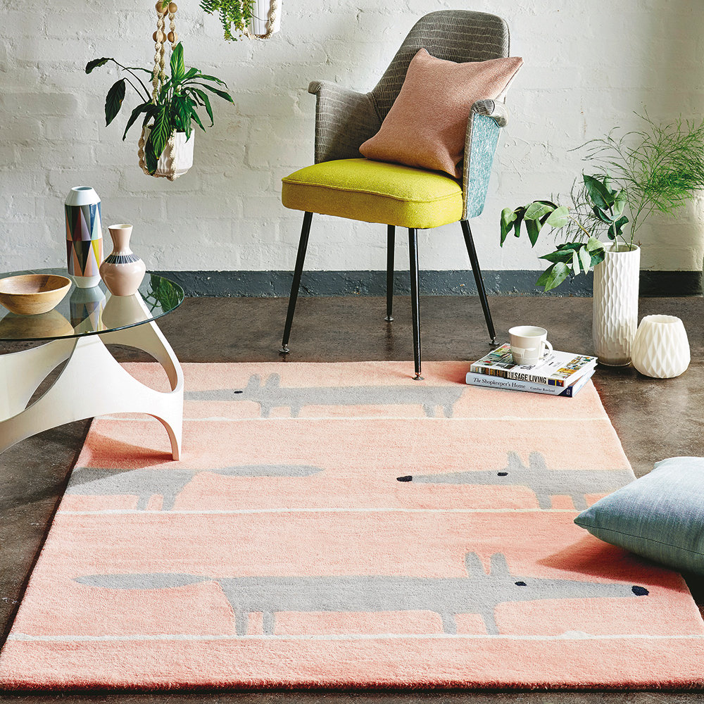 Scion Mr Fox Blush Rug - Product code: 25302 / 151191