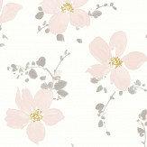 Casadeco Sabatini Pink Wallpaper