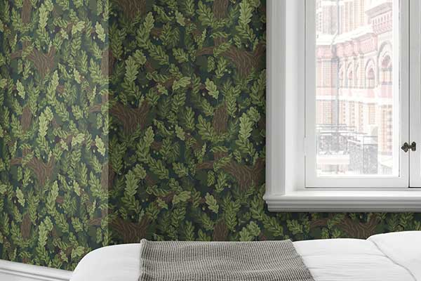 Sandberg Ek Green Wallpaper - Product code: 433-88