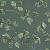 Sandberg Hassel Dark Green Wallpaper