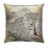 Arthouse Velvet Leopard Cushion Multi