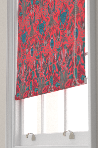 Emma J Shipley Amazon Red Blind - Product code: F1107/05
