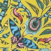 Clarke & Clarke Rousseau Velvet Lime Fabric