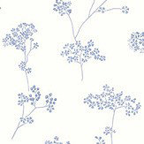 Galerie Miniature Floral Spray Blue Wallpaper - Product code: G67871