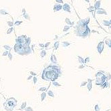 Galerie Miniature Rose Trail Blue Wallpaper