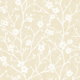 SK Filson Cherry Blossom Gold Wallpaper