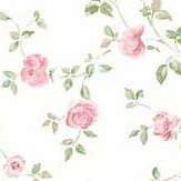 Galerie Miniature Rose Trail Pink Wallpaper