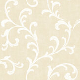 SK Filson Trellis Scroll Gold Wallpaper