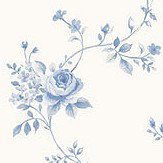 Galerie Rose Trail Blue Wallpaper - Product code: G67892