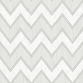 SK Filson Zig Zag Chevron Grey Wallpaper