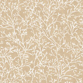 SK Filson Floral Twigs Copper Wallpaper