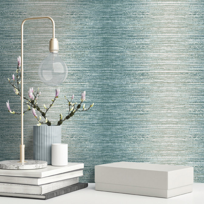 Albany Arlo Teal Wallpaper - Product code: 65443