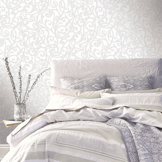 Albany Alyssia Dove Grey Wallpaper - Product code: 65451