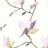 Casadeco Suzhou Pink / Purple Wallpaper