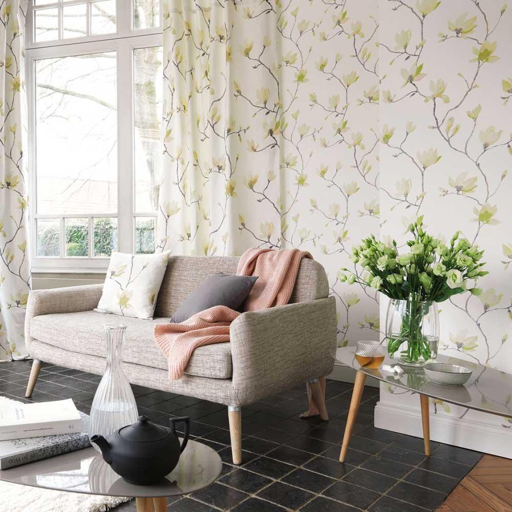 Casadeco Suzhou Green Wallpaper - Product code: 82367207