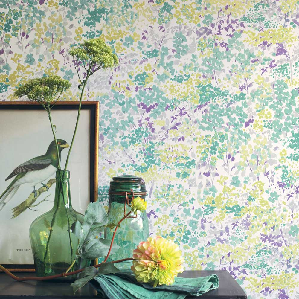 Casadeco Huntingdon Green Wallpaper - Product code: 82377338