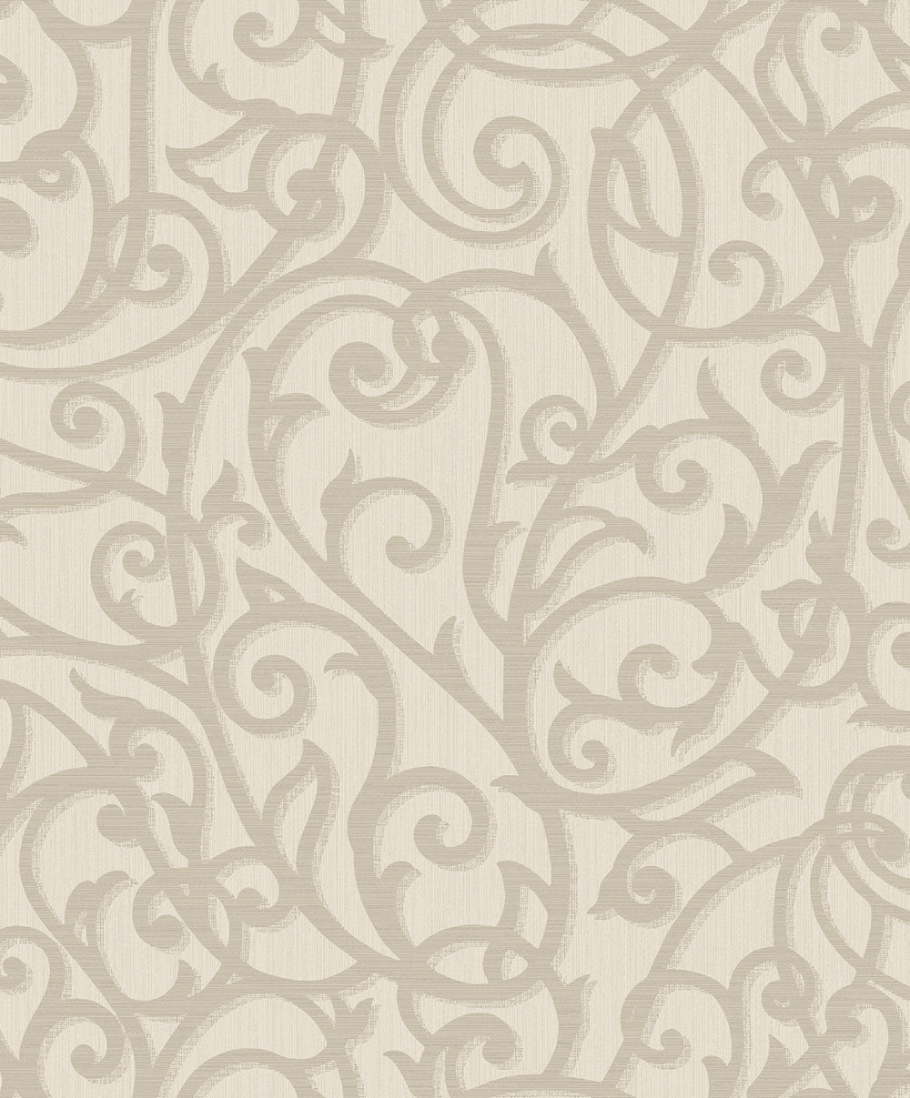 Albany Alyssia Taupe Wallpaper main image